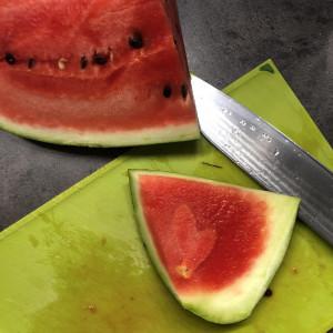 srce u lubenici
